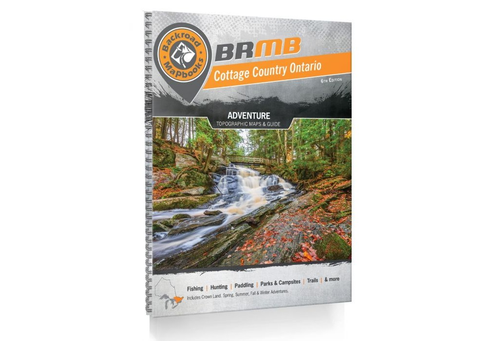 Cottage Country Ontario Backroad Mapbook - 5th Edition