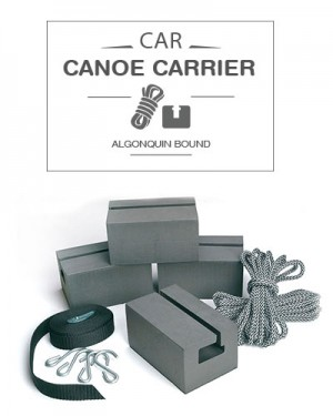 Car Canoe Carrier (foam blocks with straps)
