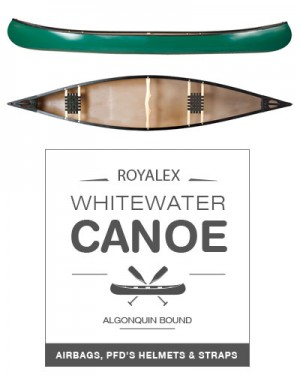 Whitewater Royalex Canoe