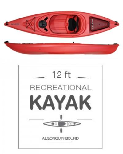 Deluxe Recreational Kayak
